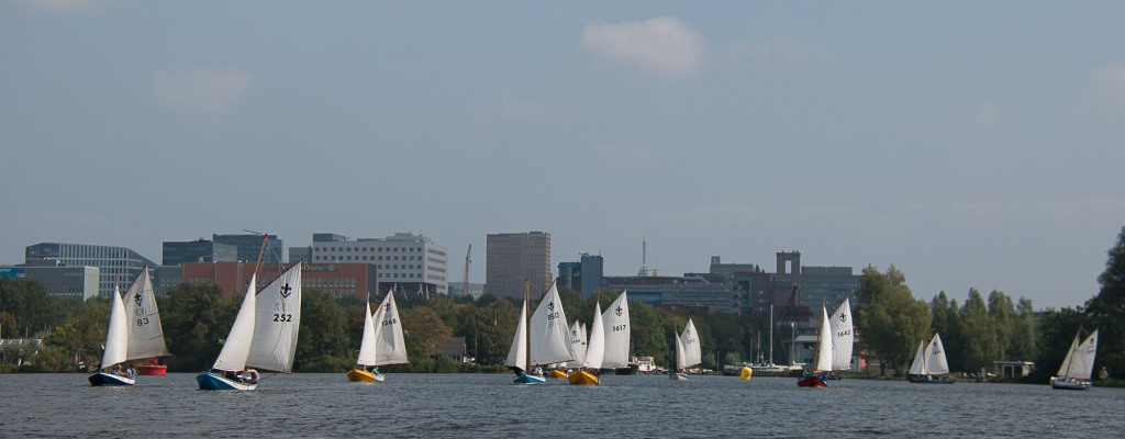 Zeilwedstrijden Nieuwe Meer